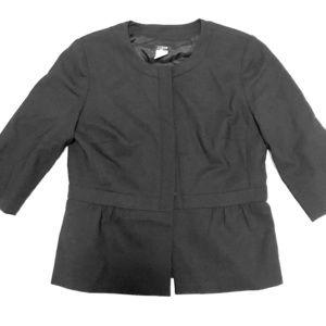 J Crew peplum jacket